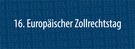 16. Europäischer Zollrechtstag | Graz