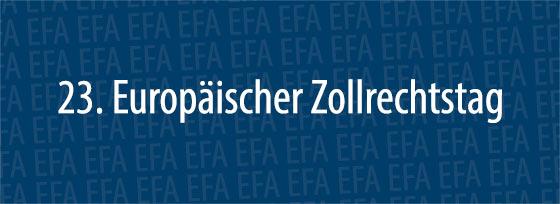 23. Europäischer Zollrechtstag | Schaffhausen