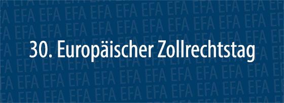25. Europäischer Zollrechtstag | Erfurt